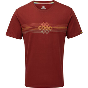 Sherpa Dharma T-shirt Heren, potala red